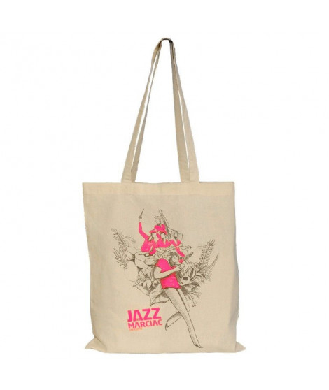 Sac shopping rose Jazz in Marciac