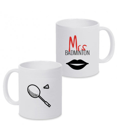 Mug Mrs Badminton