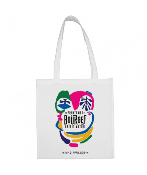 Sac Shopping Affiche Printemps de Bourges 2019