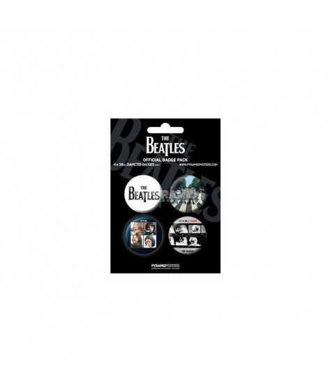 Badges noirs The Beatles