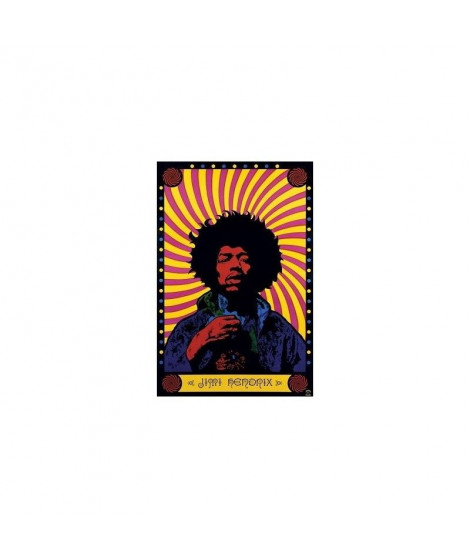 Maxi Poster jimi hendrix  psychedelic