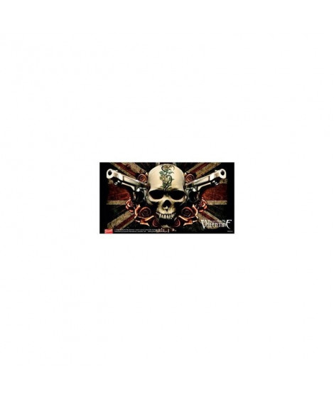 Stickers Bullet For my Valentine skull