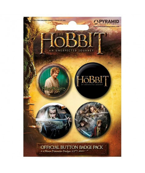 Badges The Hobbit : An Unexpected Journey