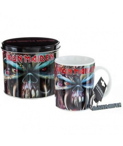 Mug Iron Maiden final frontier - Coffret collector