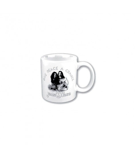 Mug JOHN LENNON Yoko give peace a chance