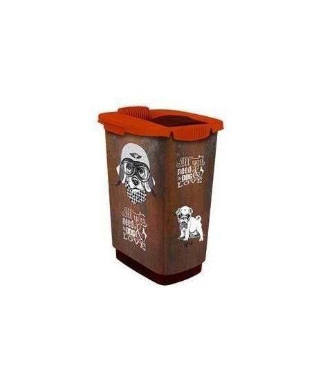 ROTHO Container a croquettes verseur Cody 25 L - Pour chien et chat