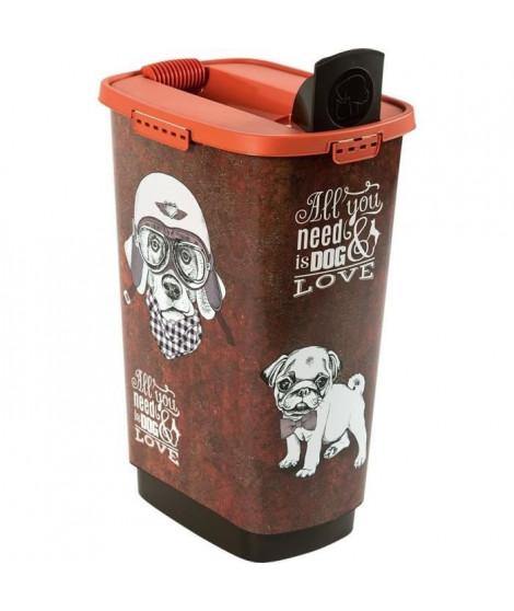 ROTHO Container a croquettes verseur Cody 50 L - Pour chien et chat