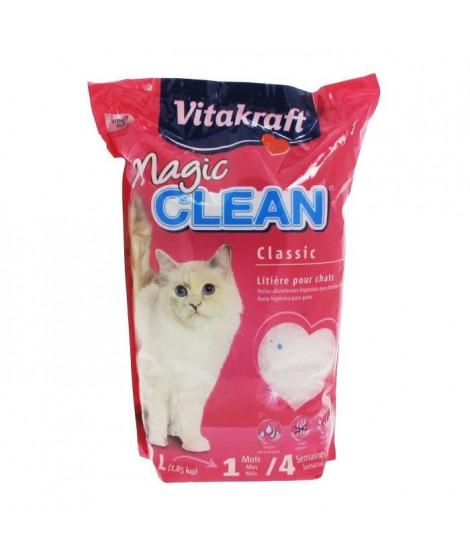 VITAKRAFT Litiere Magic Clean - 4 L - Pour chat