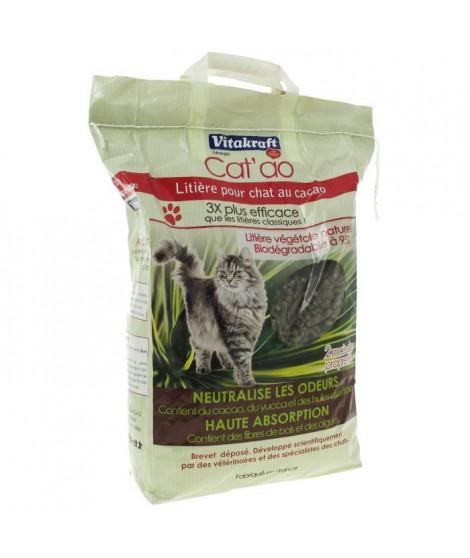 VITAKRAFT Litiere Cat'ao au cacao - 8 L - Pour chat
