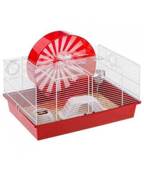 FERPLAST Cage Coney Island 50x35x25 cm - Blanc - Pour hamster