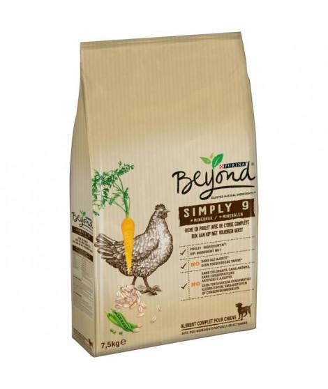 BEYOND Croquettes riche en poulet avec de l'Orge complete - Pour chien - 7,5 kg