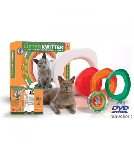 LITTER KWITTER Kit de toilette pour chats