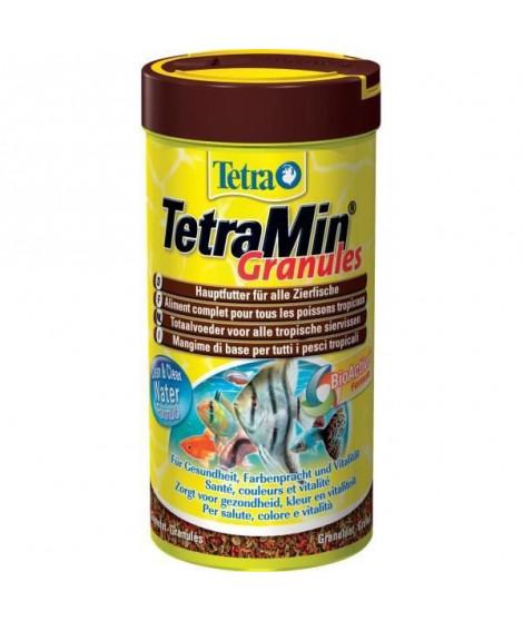 TETRA TetraMin Aliments premium complet pour les poissons tropicaux en granulés - Formule Bio Active -250 ml