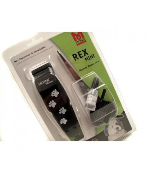 MOSER Tondeuse a câble Rex Mini - Noir - Pour chien