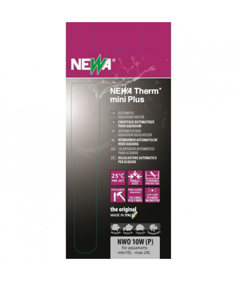 NEWA Chauffage Therm Mini Nw0-10P - Pour aquarium