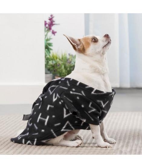 INNOVAGOODS Couverture amanches Symbols Snug Snug One Doggy - Noir - Pour chien