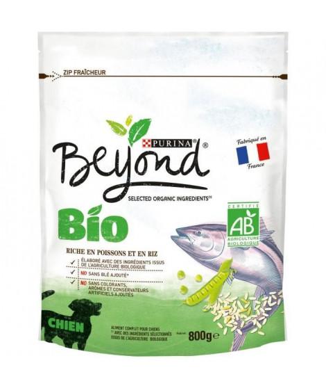 BEYOND Croquettes riches en saumon Bio - Pour chien adulte - 800 g