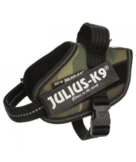 JULIUS K9 Harnais Power IDC Baby 2–XS–S : 33–45 cm - 18 mm - Camouflage - Pour chien