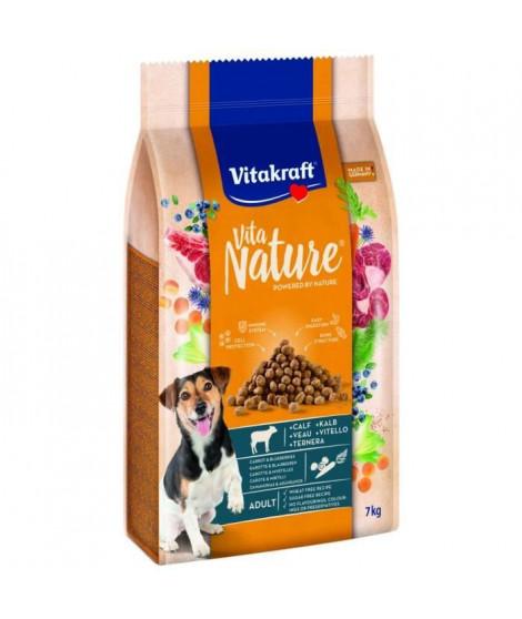 VITAKRAFT Vita Nature veau avec carottes et myrtilles - Chien - 7 kg