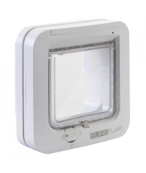 SUREFLAP Chatiere a puce électronique blanc