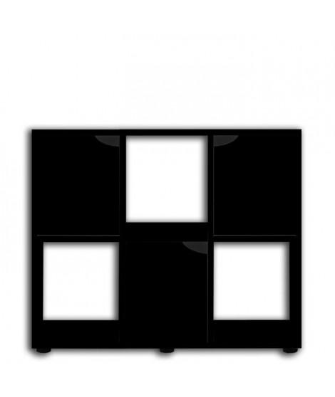 ZOLUX Meuble pour aquarium terrarium Karapas - L 100 x p 40 x h 72 cm - Noir