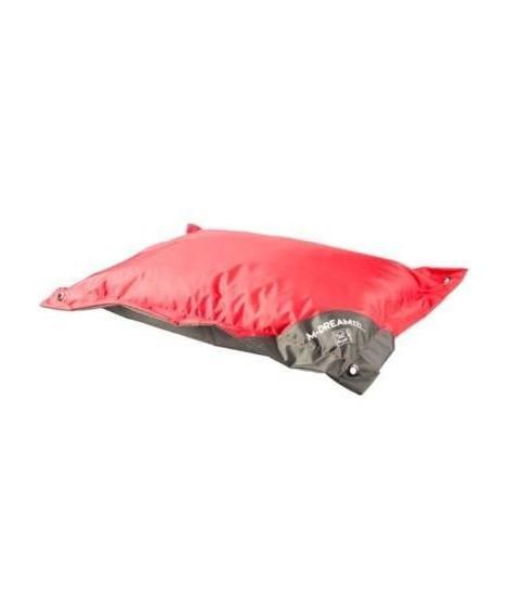 MPETS Coussin d'extérieur Natuna 80 cm - Taille S - Rouge et gris - Pour chien