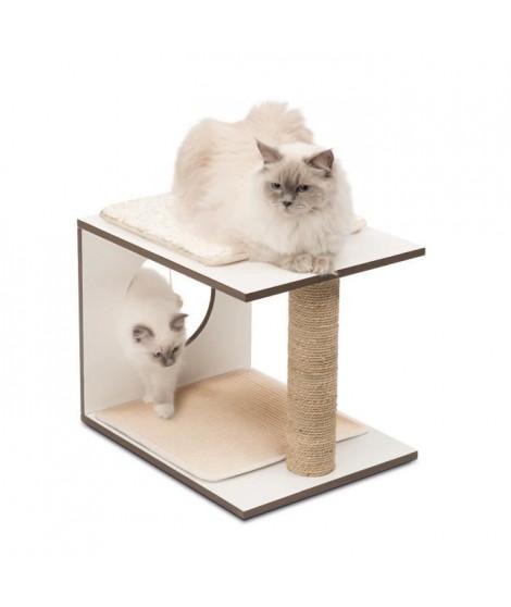 Arbre A Chat Vesper V-stool Blanc