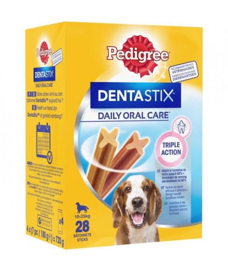 PEDIGREE Dentastix Bâtonnets - Pour moyens chiens - 720 g