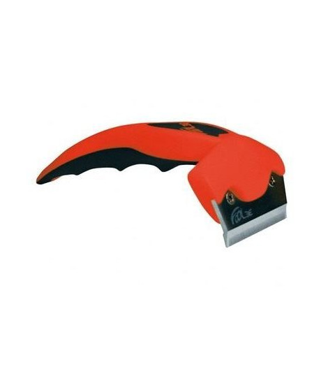 FoOLEE Brosse One - Small - Rouge - Pour chat et chien