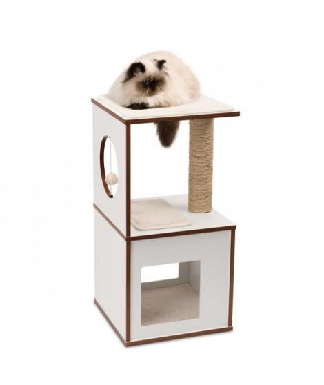 Arbre A Chat Vesper V-box Small Blanc