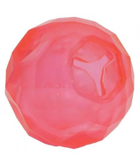 ROSEWOOD Jouet en forme de boule de festin - Rose - Pour chien