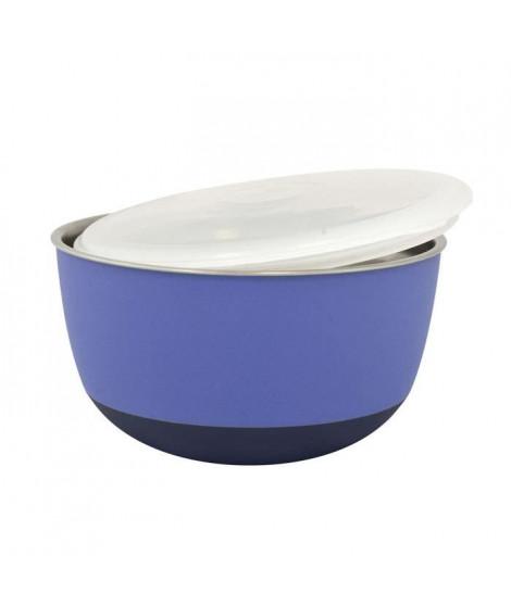 DUVO Mangeoire avec couvercle Matte Balance - Ø13,5 cm - 700 ml - Mauve - Pour chien et chat