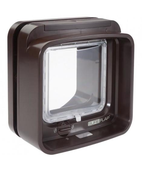 SUREFLAP DualScan Chatiere a puce électronique marron