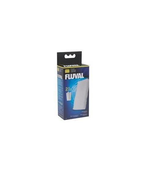 FLUVAL 2 blocs de mousses 106 - Pour aquarium