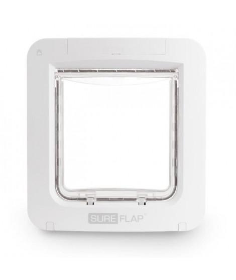 SUREFLAP Grande chatiere a puce électronique Connect - Blanc - Pour chat et chien