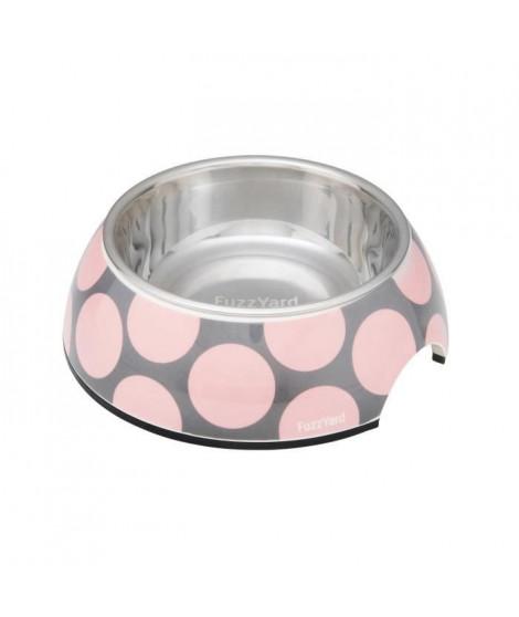 FUZZYARD Gamelle Pink Bubblelicious M - 13 x 6 cm - Pour chien