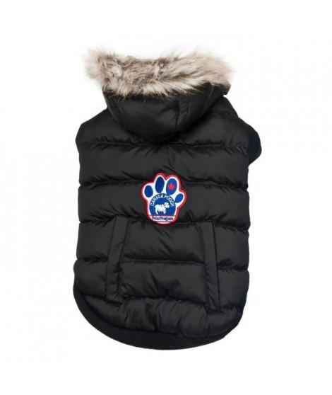 CANADA POOCH Manteau North Pole Parka 14+ - 8/11 kg - Noir - Pour chien