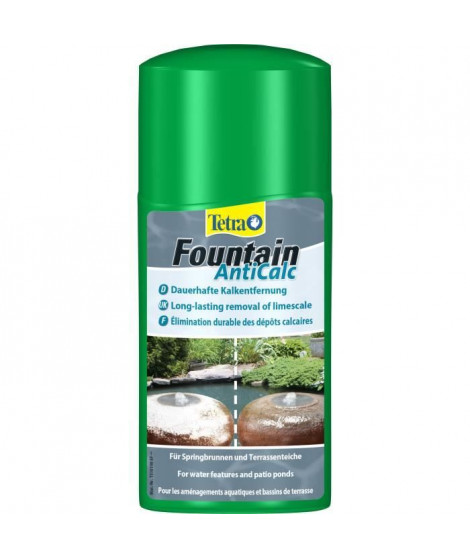 TETRA Pond Fountain AntiCalc - Détartrant poissons de bassins - 250ml