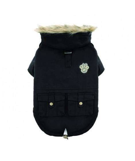 CANADA POOCH Manteau Army Parka 12 - 4/6 kg - Noir - Pour chien