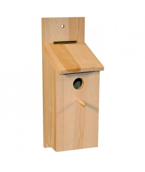 KERBL Nichoir - Kit a monter soi-meme pour oiseaux - 36x12x14cm