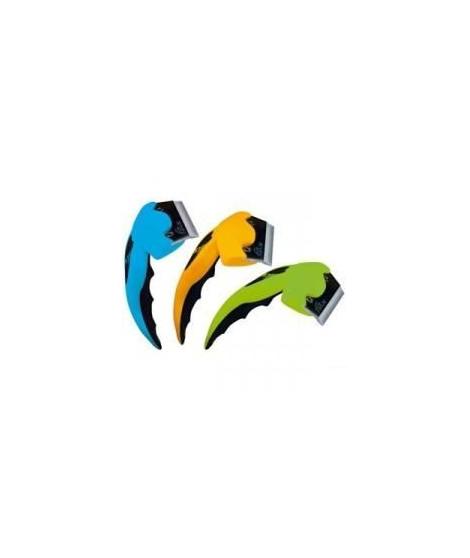FoOLEE Brosse One - Large - Vert - Pour chat et chien