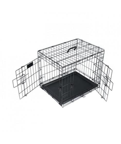 M-PETS - Caisse Voyager - Noir - M - Pour chien