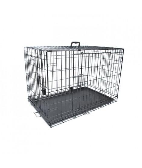 M-PETS - Caisse Voyager - Noir - L - Pour chien