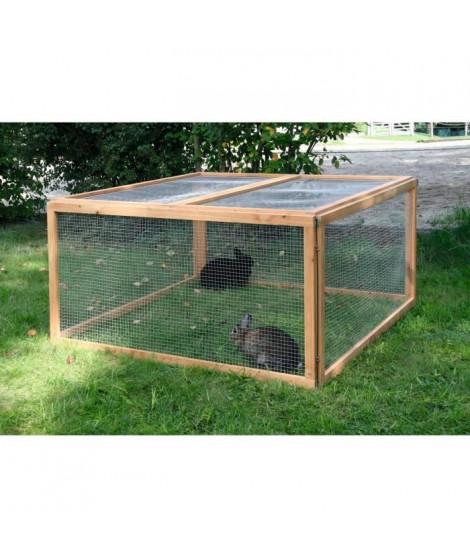 KERBL Cage extérieur Vario pour rongeurs - 120x120x59cm