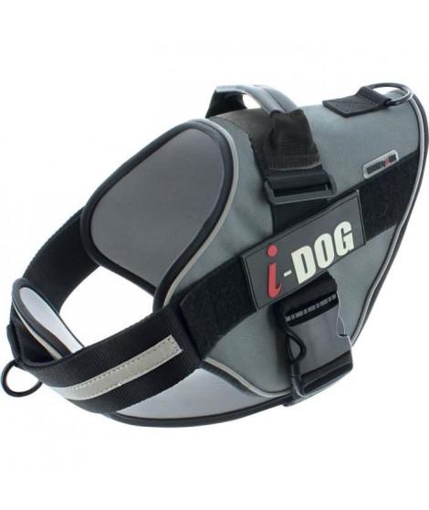 I DOG Harnais Néocity - Taille XS - Noir et gris - Pour chien