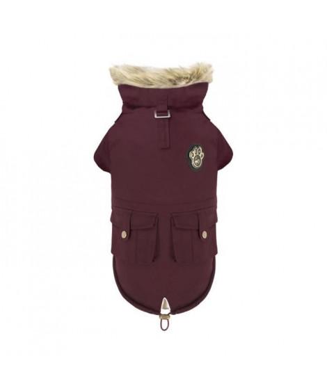 CANADA POOCH Manteau Army Parka 20 - 15/18 kg - Bordeaux - Pour chien