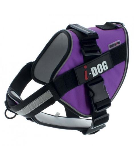 I DOG Harnais Néocity - Taille XS - Violet et gris - Pour chien