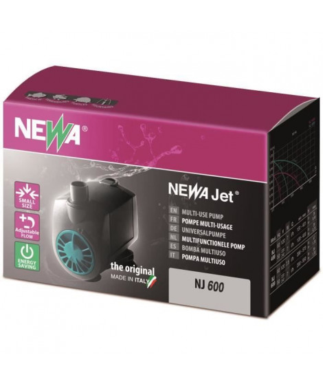 NEWA Pompe New Jet Nj 600 - Pour aquarium