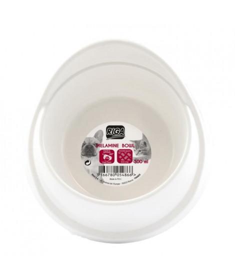 RIGA Mangeoire mélamine - 300 ml - Pour chien et chat