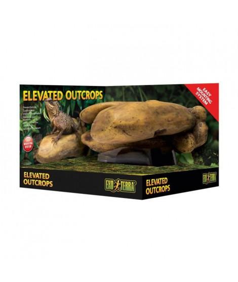 EXO-TERRA Rocher suspendu outcrop - Medium - Pour reptile ou amphibien